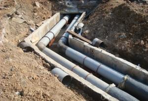 Cтроительство сетей водопровода