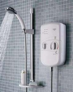 установить проточный водонагреватель в ванной